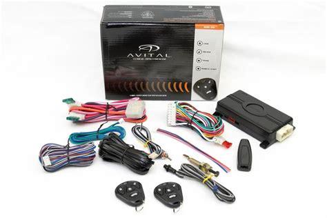 Remote Start Car Starter ~keyless Kit & Bypass Module