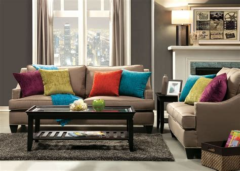 sectional with chaise upholstered beige sofa nailhead trim