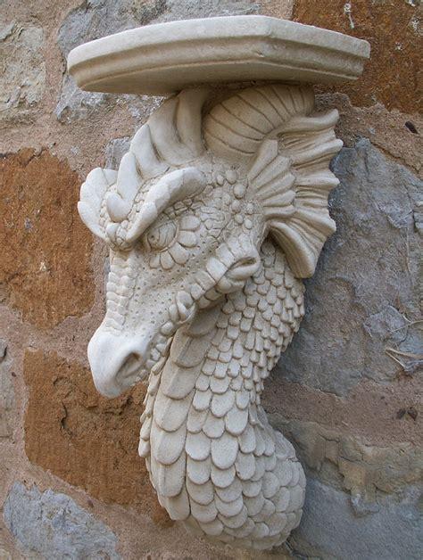 Dragon Corbel Wall Decoration  Garden Ornaments Buy