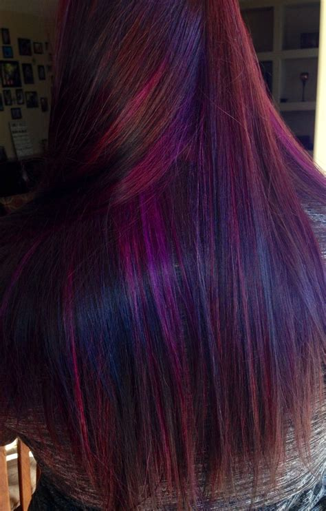 Purple Red Hair Amazing Hair Done By Tara Aaron Andujar
