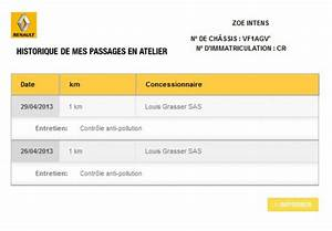 Carnet Entretien Renault : contr le anti pollution zo ~ Gottalentnigeria.com Avis de Voitures