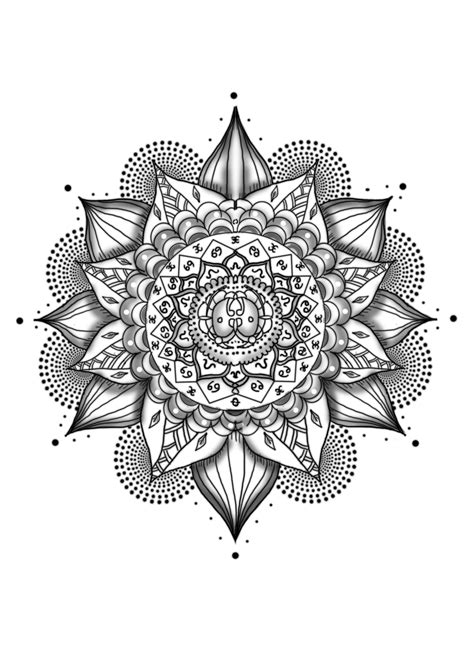 mandala tattoos png picture