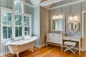 7 Charming Farmhouse Bathroom Design Ideas - https