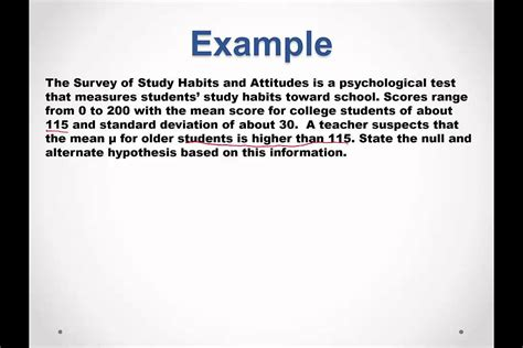 hypothesis statements youtube