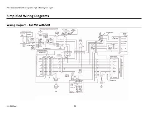 simplified wiring diagrams wiring diagram vat with scb pitco frialator gas fryers sg