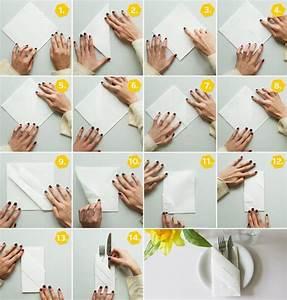 Serviettenfalttechniken Mit Papierservietten : servietten falten 15 anleitungen und videos deko ~ Watch28wear.com Haus und Dekorationen