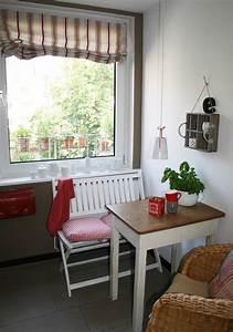 Kleine Sitzecke Küche : kleine k che optimal genutzt gebluemlich ~ Michelbontemps.com Haus und Dekorationen