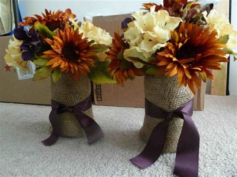 flower table decorations for weddings decor diy rustic fall wedding table decorations purple