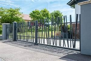 Portail En Aluminium : portail battant aluminium epinal mercier david ~ Melissatoandfro.com Idées de Décoration
