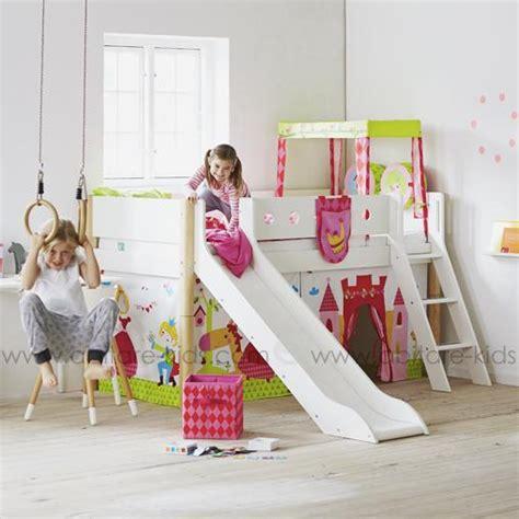 chambre cabane fille lit ludique pour vos enfants flexa lifetime et dutchwood