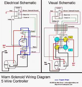 Winch In-cab Switch Wiring Diagrams