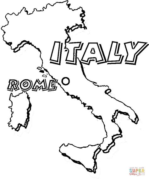 italy coloring pages  print coloring pages