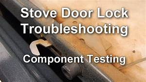 How To Troubleshoot The Door Lock On Your Stove    Range