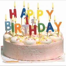 Susy Card Bougie Pour Gâteau 'happy Birthday', Lettre En
