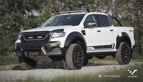ford ranger tuning m sport tuned ford ranger gets baby raptor look