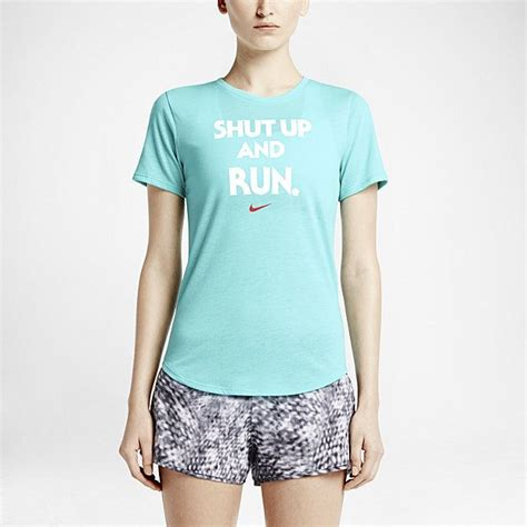 Nike Shut Up And Run T Shirt nike quot shut up and run quot s t shirt nike store