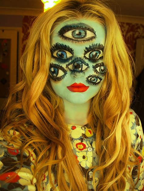 22 Creepy Makeup Looks to Try This Halloween