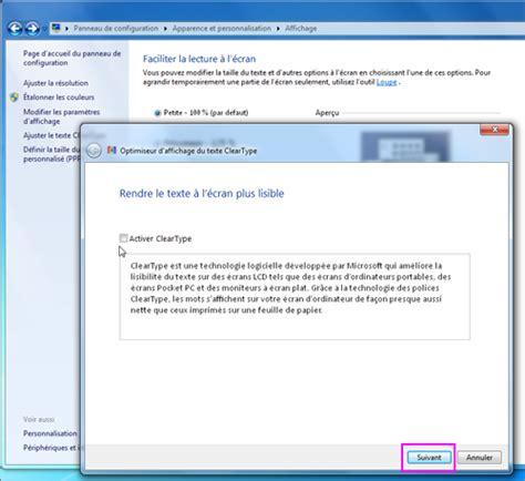 affichage bureau windows 7 lilapuce param 232 tres d affichage windows 7