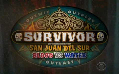 Survivor 2014 Blood Vs Water Start Date Announced on ...