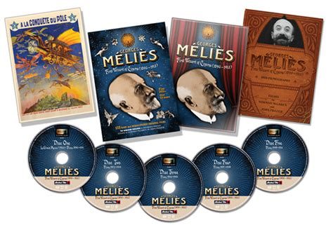 george melies father of film fantasy george melies dvd collection