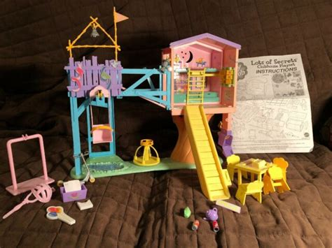I stood at the top of my treehouse that morning. 2001 HTF Barbie Kelly Mattel Lots of Secrets Clubhouse ...