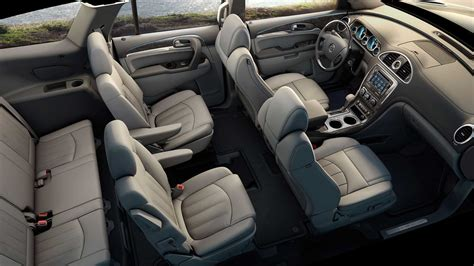 buick enclave history  model photo gallery  list