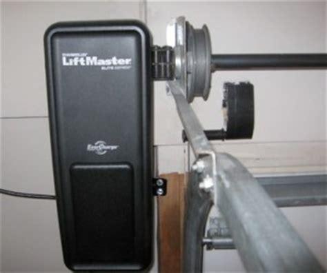 garage door installation how does a jackshaft garage door opener work