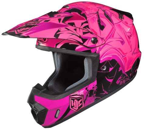 hjc motocross helmets hjc womens cs mx 2 csmx ii graffed motocross mx off road