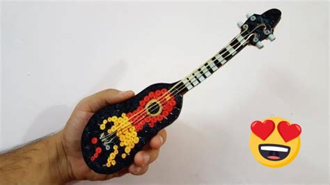 paper quilled guitar quilling guitar youtube