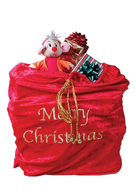 santa present bag santa claus toy bag