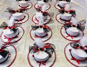 Décoration Mariage Rouge Et Blanc : idee deco table noir et blanc 17 best images about ~ Melissatoandfro.com Idées de Décoration
