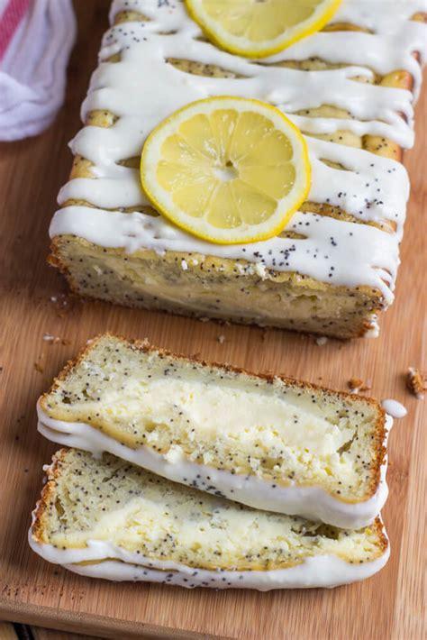 lemon poppy seed cake  broken