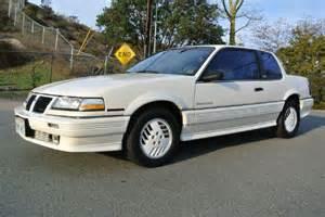 1989 Pontiac Grand Am - Information and photos - MOMENTcar