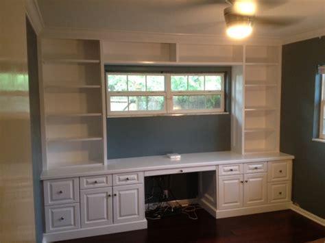 built in desk and bookshelves ta florida custom carpentry work built in bookcase