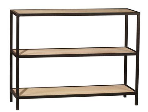 mobilier canap tagre en chne et mtal avec trois niveaux signature