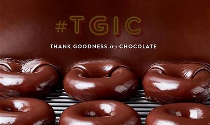 Chocolate Glaze Kreme Krispy Goodness Fridays Thank