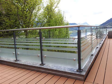 balustrade balcon en verre 171 sadev architectural glass systems fixations pour le verre