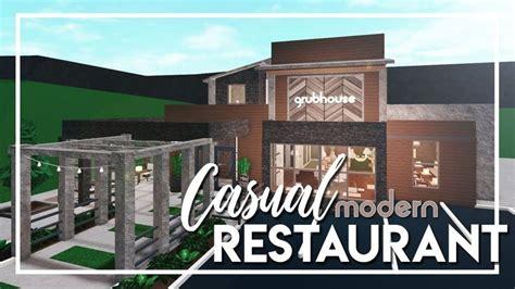 bloxburg casual modern restaurant