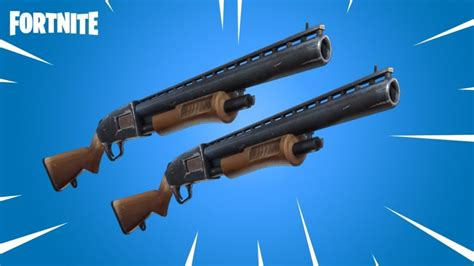 fortnite shockingly vaults pump shotgun   offers
