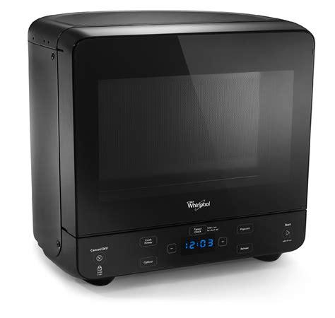 whirlpool 0 5 cu ft countertop microwave in black whirlpool wmc20005yb 0 5 cu ft compact countertop