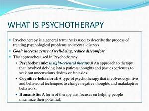 Psychotherapy preethi pgdcp