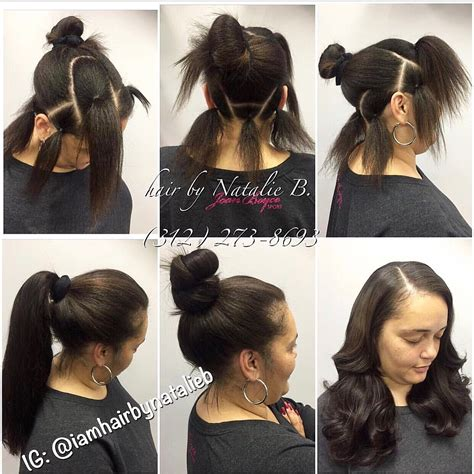 Sew In Ponytail Hairstyles by Finally A Versatile Sew In That Is Actually Versatile
