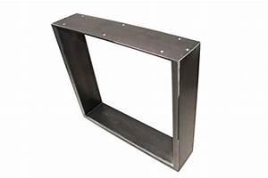 Pied De Table Metal Industriel : plateau pour table design r tro table ch ssis design ~ Dailycaller-alerts.com Idées de Décoration