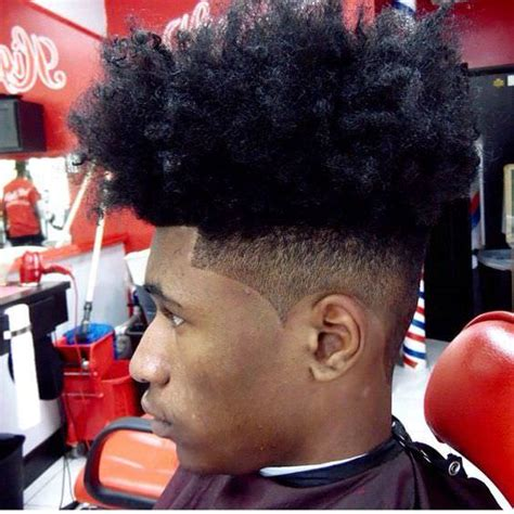 Fade Haircut Black Men Hairstyles Design Trends