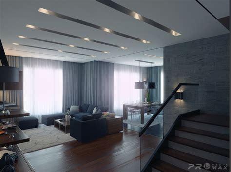 modern apartment  living room  interior design ideas