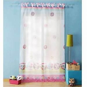 Rideau Enfant Fille : rideaux chambre fille chambre d 39 enfant ~ Teatrodelosmanantiales.com Idées de Décoration