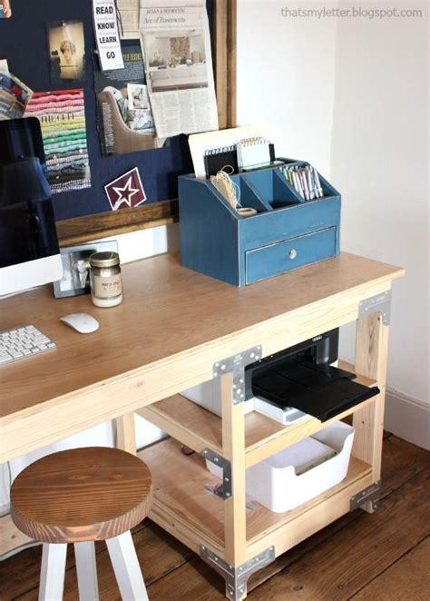 ana white build  desktop office  vanity beauty