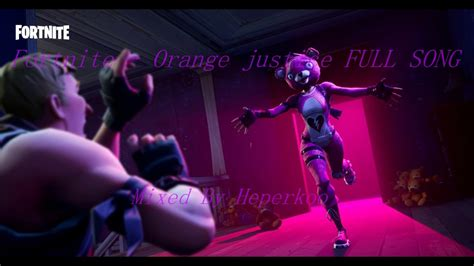 Fortnite Orange Justice Wallpaper by Fortnite Orange Justice Emote Song Mixed By