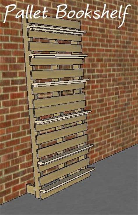 pallet bookshelf plans white build a pallet bookshelf free and easy diy