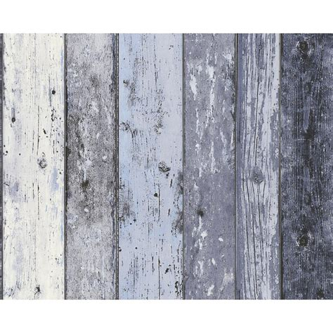 new as creation surf beach hut painted wood panel pattern faux effect wallpaper ebay